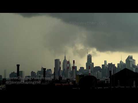 New York City, NY  Severe Storm and Rainbow – 8/21/2019