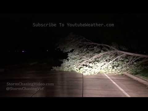 Severe Storms hit Norman, OK with high winds and heavy rain – 8/26/2019