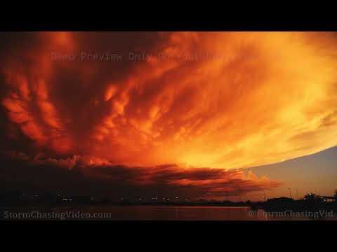 Maricopa, AZ Sunset Thuder Storm Time Lapse – 8/28/2019