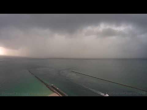 Miami, FL Stormy Timelapse Pre Hurricane Dorian – 8/30/2019