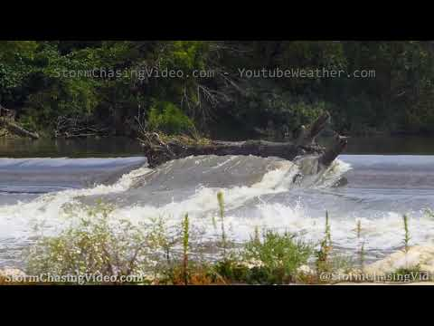 Fox River Flood Cresting, Aurora, IL – 9/18/2019
