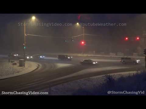 Colorado Springs, CO Major Winter Storm Brings Traffic to a Crawl – 10/23/2019