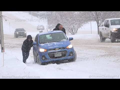 Colorado Springs, CO Snowy Travel Chaos – 10/28/2019
