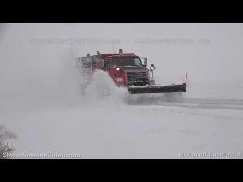 Blizzard shuts down Interstate 70 in Northwest, KS – 11/26/2019