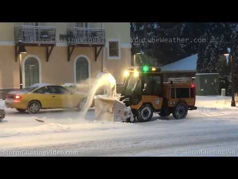 Frankenmuth, MI Winter Storm This Morning – 1/18/2020