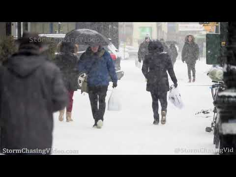 Winter Storm hits Queens, NY – 1/18/2020