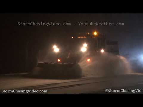 Snow storm in LaGrange, NY impacts traffic – 1/18/2020