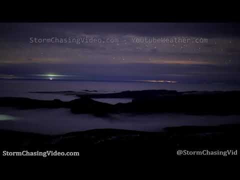 Amazing Time Lapse Cloud Inversion Waves, Moab UT – 1/23/2020