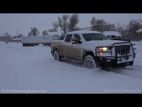 Winter storm and heavy snow slams Kansas – 1/28/2020