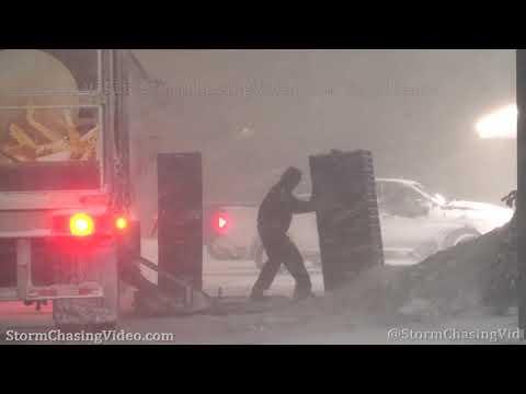 Powerful Blizzard Hits Adams, NY – 2/27/2020
