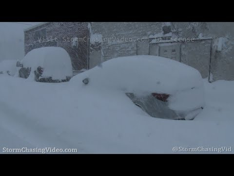 Blizzard Strands Vehicles In Jefferson County, NY – 2/28/2020