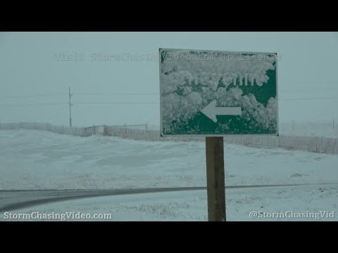Blizzard On The First Day Of Spring, Cheyenne Wyoming – 3/19/2020