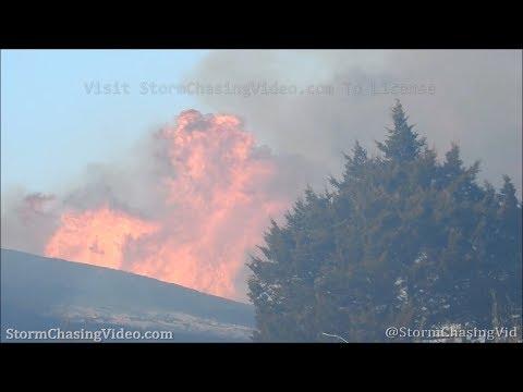 Brady, NE Wild Fire B-Roll – 3/24/2020