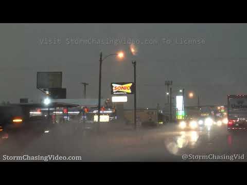 Heavy Rain and Street Flooding – Post, TX, 5/24/2020