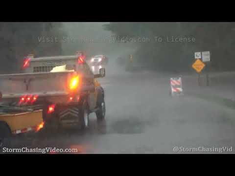 Flash Flooding, Mudslide and Shelf Cloud, Mankato, MN – 6/29/2020