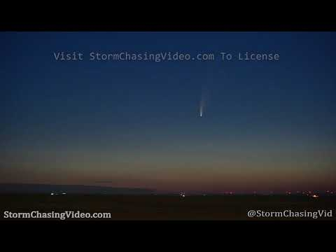 Comet Comet Time-Lapse – Briggsdale, CO – 7/9/2020