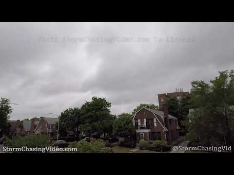 Tropical Storm Fay 12 Hour Timelapse Over Queens, NY – 7/10/2020