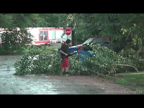 Rain Wrapped Tornado And Extreme Winds, Martin, SD – 7/10/2020