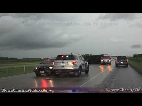 Tornado Warned Storms, near Mankato, MN – 7/11/2020