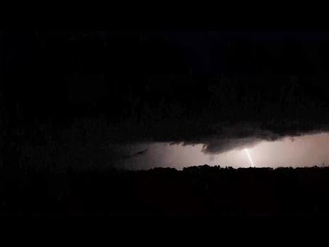 Intense Lightning and Tornado Warned Storm, Gilman, MN 7/14/2020