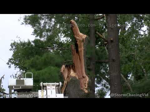 Tornado Aftermath and Cleanup, Cadott, WI – 7/22/2020