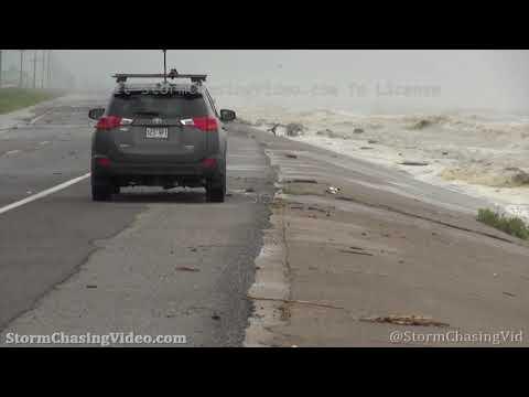 Last look at Holly Beach, LA before Hurricane Laura – 8/26/2020