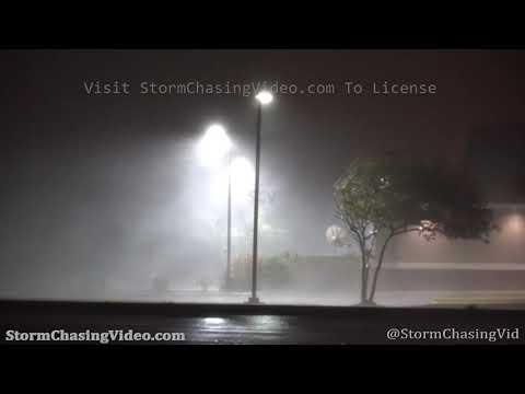 Hurricane Laura Eyewall Slams Carlyss, LA – 8/27/2020