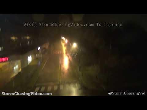 Hurricane Laura Eyewall, Lake Charles, LA – 8/27/2020