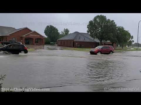 Flash Flooding, Norman, OK 8/31/2020