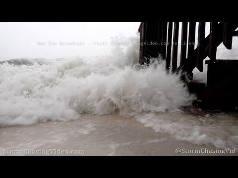 Hurricane Sally, Storm Surge and Heavy Rain, Perdido Key Beach, FL – 9/15/2020