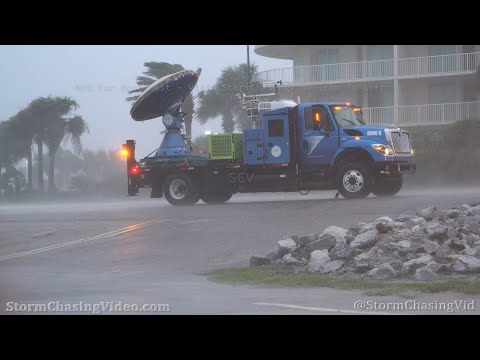 Hurricane Sally In The Eye Wall And Storm Surge, Orange Beach AL – 9/15/2020