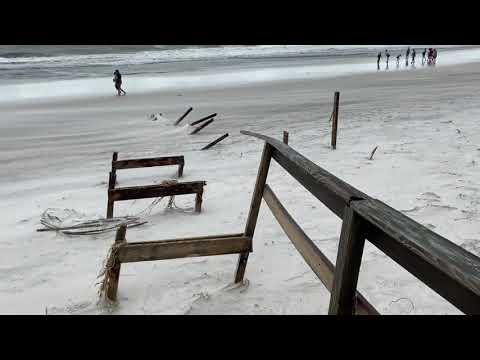 Video shows damage in Orange Beach after Hurricane Sally