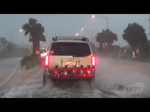 09-15-2020 Gulf Shores, AL – Sally Close Range Power Flash Arc – Rushing Surge – Tree Down On Car