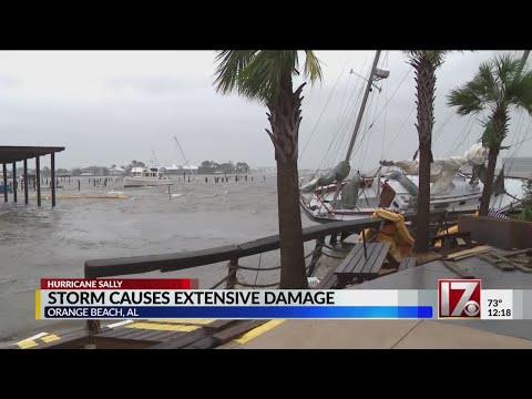 Hurricane Sally causes extensive damage in Orange Beach, Alabama