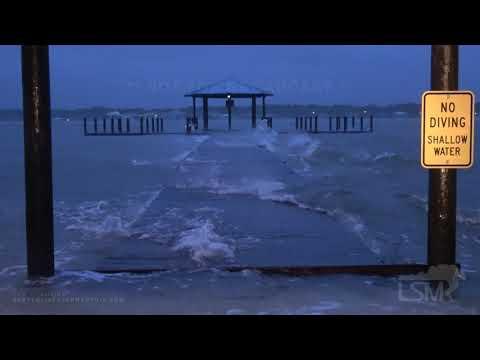 09-15-2020 Gulf Shores, AL – Hurricane Sally Storm Surge Heavy Rain High Wind – Early Damage & Impac