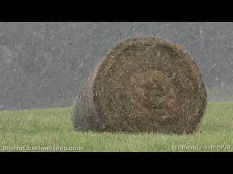 First Snow Fall, Barron County, WI -10/16/2020