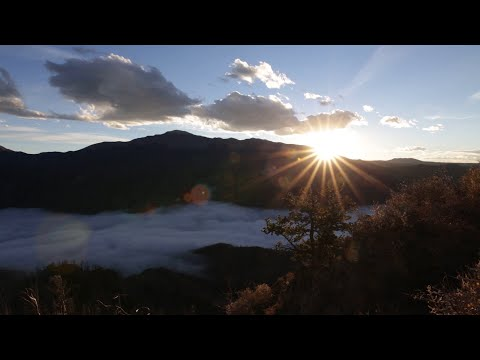 Beautiful View Above the Clouds, Colorado Springs, CO – 10/18/2020