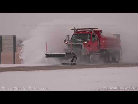 Blowing Snow Impacts Drivers on Interstate 70 in Sherman County, KS – 10/26/2020