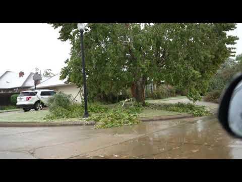 Historic Ice Storm Hits Oklahoma City, OK 10/26/2020