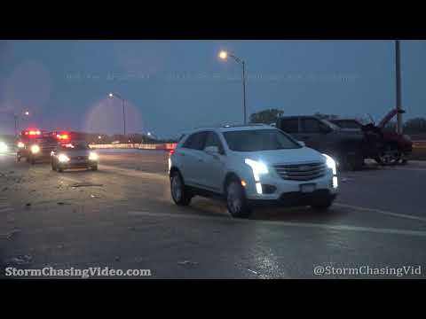 Ice Storm Turn's Wichita, KS  Morning Commute Into A Nightmare – 10/27/2020