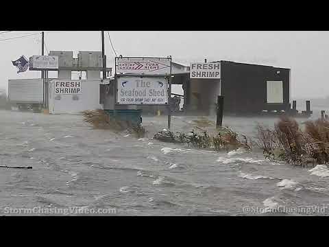 Hurricane Zeta Storm Surge, Golden Meadow, LA – 10/28/2020