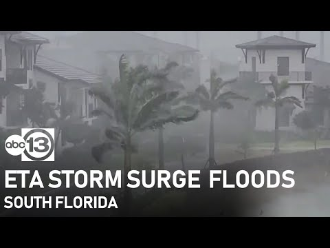 Eta storm surge brings flooding to Fort Lauderdale, Miami and more