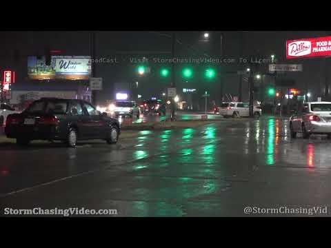 Wichita, KS Evening Severe Storm B-Roll – 11/24/2020