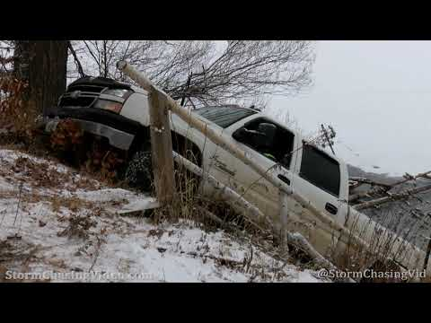 Thin Ice Truck Recovery, Washburn County, WI – 12/19/2020