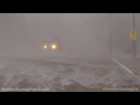 Western Minnesota Whiteout Blizzard Conditions – 12/23/2020