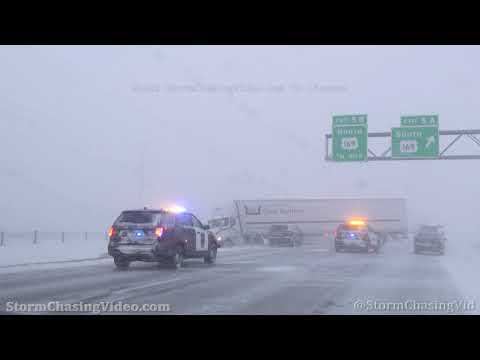Maple Grove, MN Blizzard And Accidents – 12/23/2020