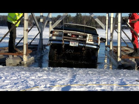 Thin Ice Truck Recovery On Rice Lake, Rice Lake, WI – 1/21/2021