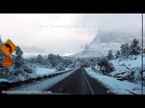Historic rare heavy snow blankets Sedona, AZ – 1/26/2021