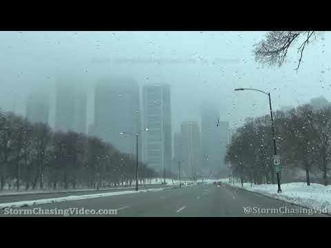 Lake Enhancement Winter Storm Warning hits Chicago, IL – 1/31/2021