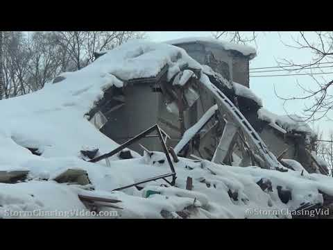 Roof Collapse From Heavy Snow – Chicago, IL – 2/18/2021